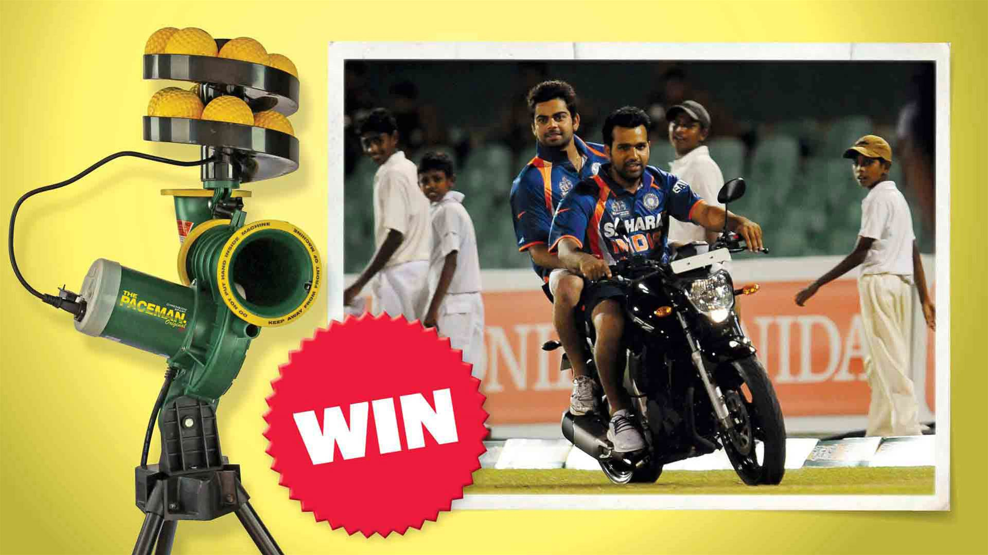 Win a paceman bowling machine!