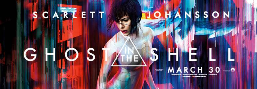 WIN! One of ten double passes to see Ghost in the Shell!