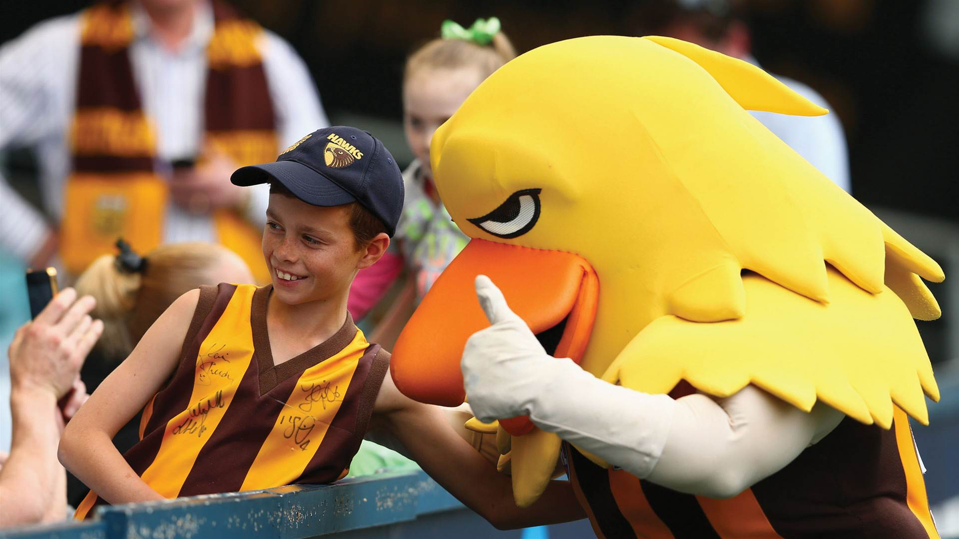 Caption this pic for chance to WIN AFL supporter pack!