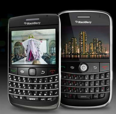 RIM's BlackBerry Bold 9700 smartphone is great for email addicts