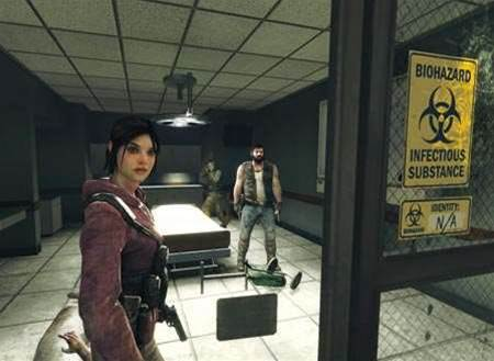 Left 4 Dead, close to a truly interactive zombified movie