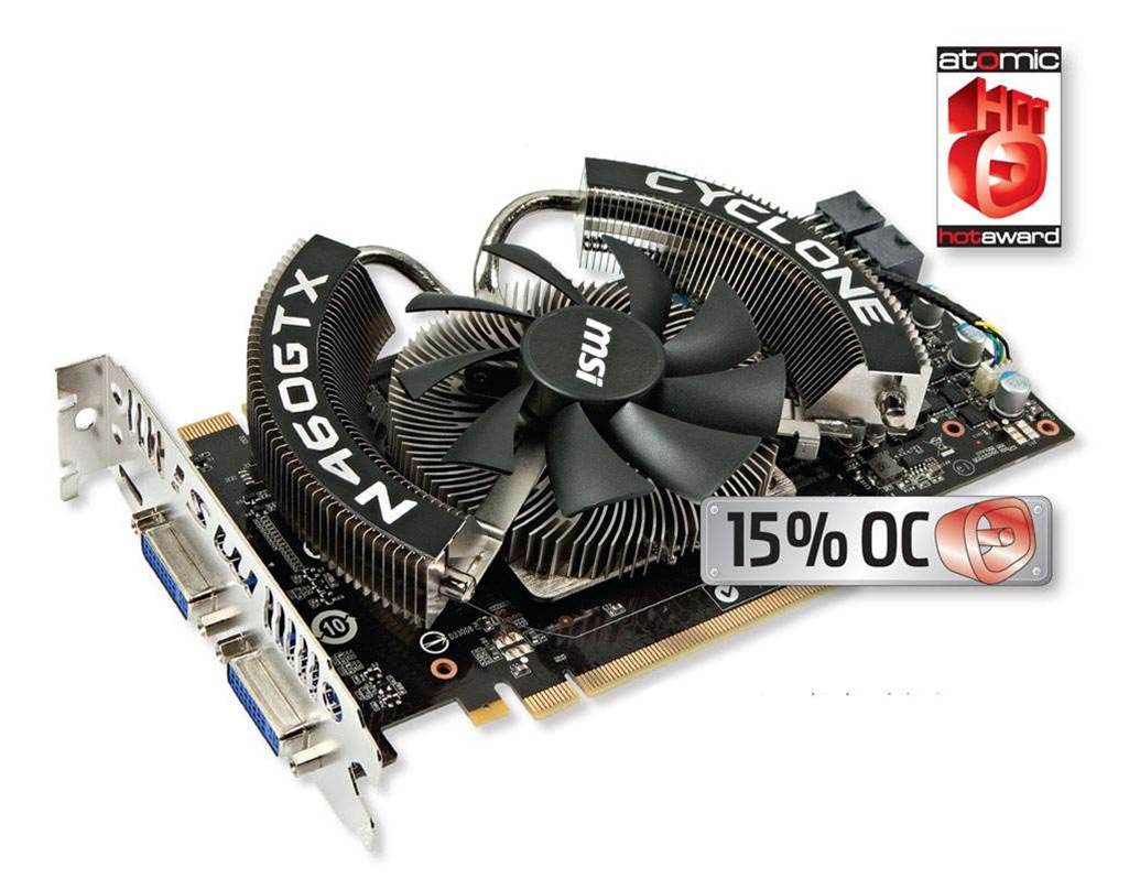 MSI's N460GTX Cyclone rocks our video socks