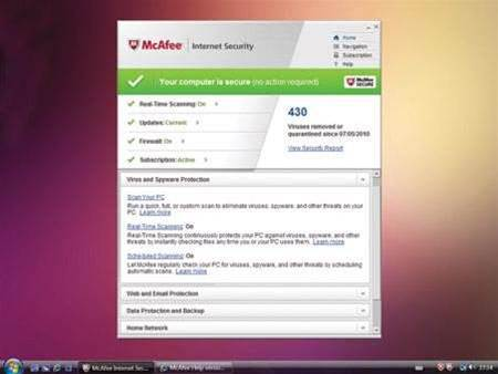 McAfee Internet Security 2010 reviewed