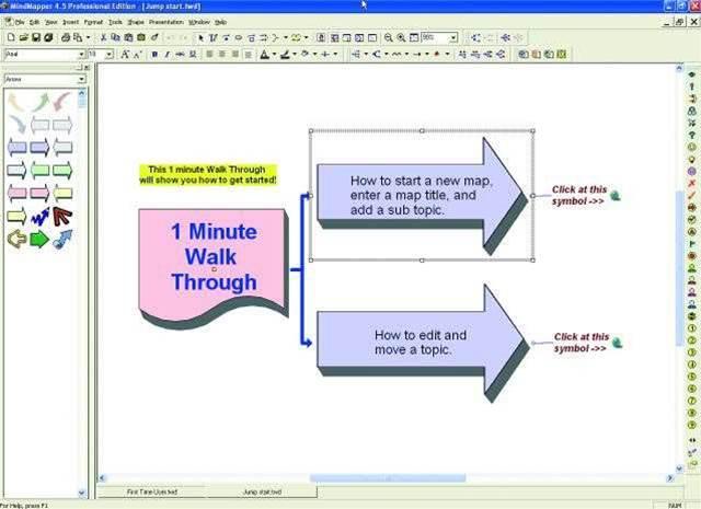 MindMapper 4.5 Professional