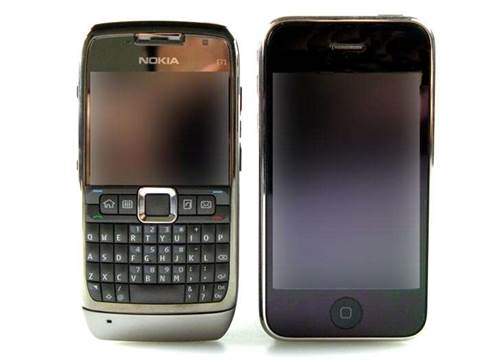 Review: First Look: Nokia E71 faces off against iPhone 3G