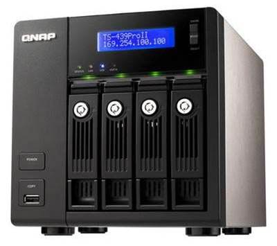 Qnap's TS-439 Pro II is a strong business backup solution under $1100