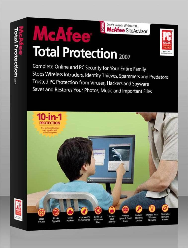 Preview: McAfee Total Protection 2007