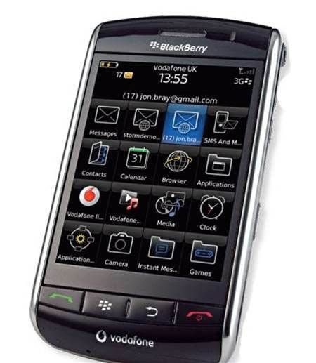 RIM BlackBerry Storm 9500, can't quite match the Bold