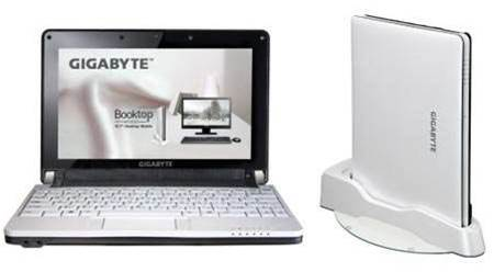 Gigabyte's Booktop M1022M can't decide if it's a nettop or a laptop