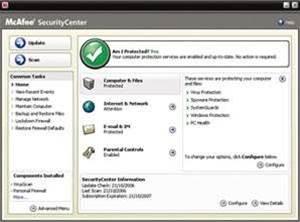 McAfee Internet Security Suite 2007