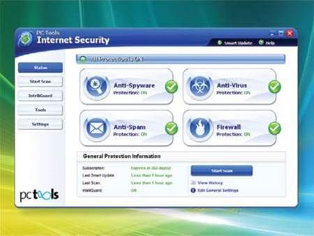 PC Tools Internet Security 2009