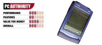 Casio Pocket Viewer PV-750