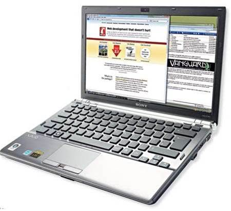 Sony VAIO VGN - Z17GN/B, it's pure class