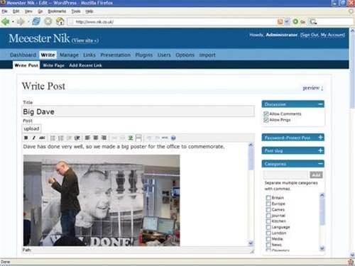 WordPress 2.0.1