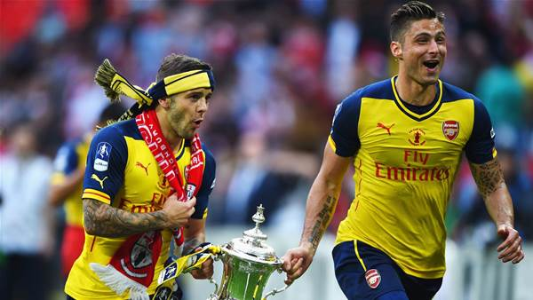 Wilshere and Giroud define the pain of loving Arsenal