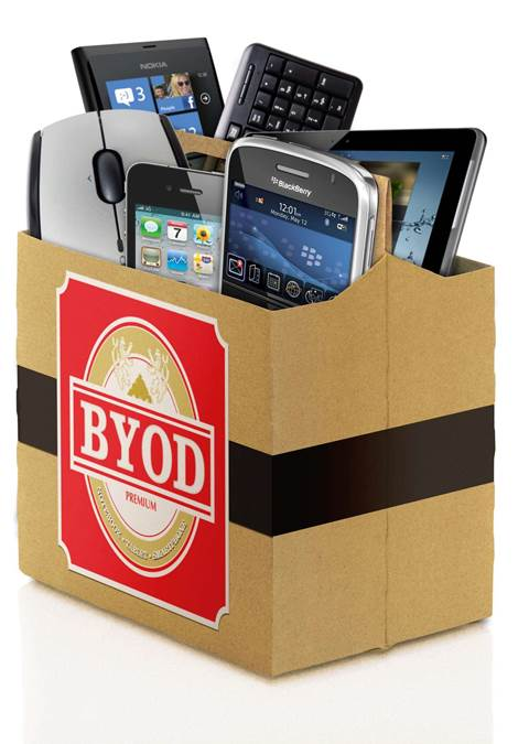 BYOD: service charge applies