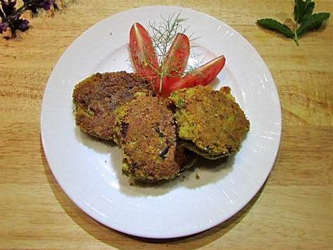 Recipe: Falafel-inspired chickpea patties