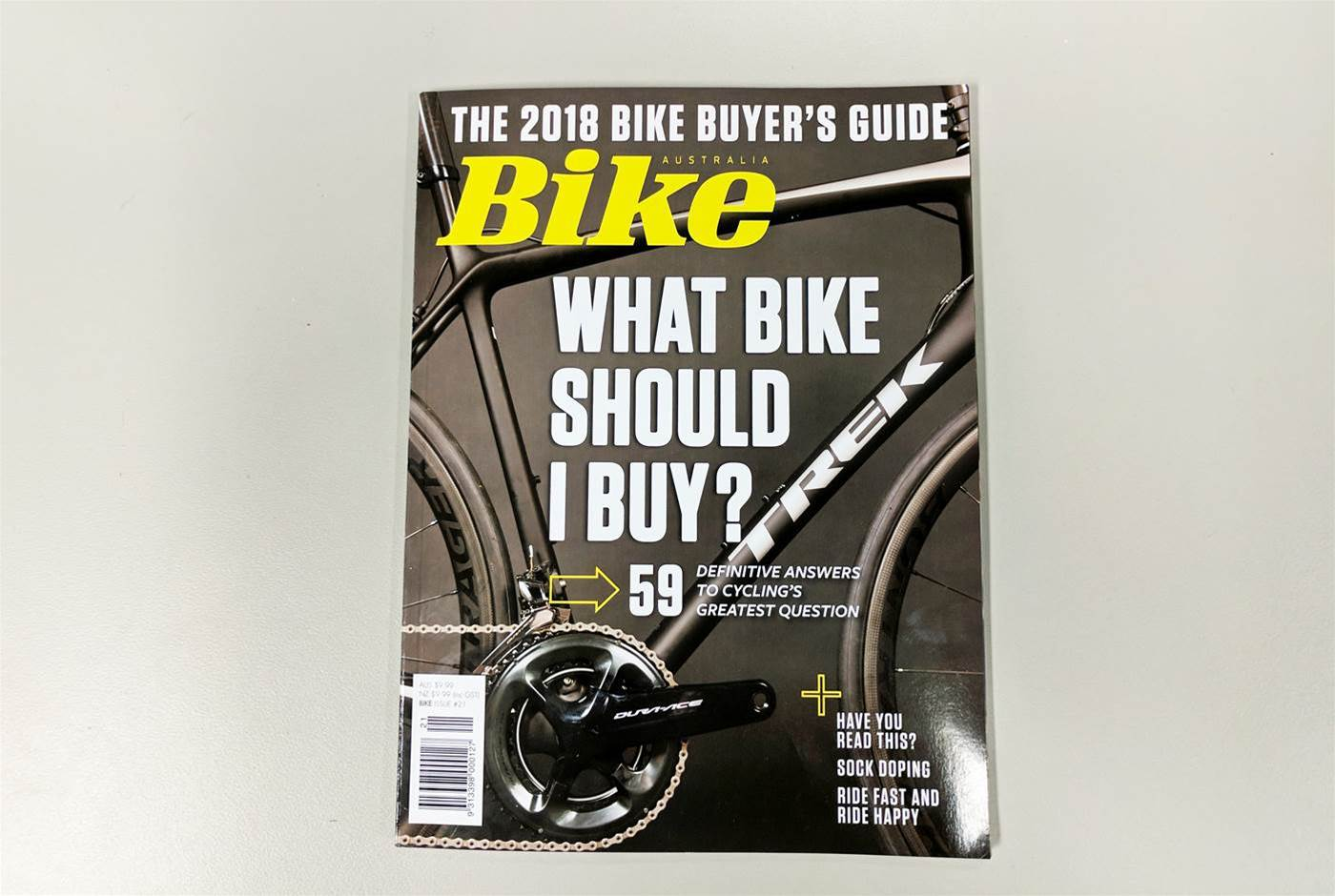 Take a sneak peek inside Bike Australia issue #21