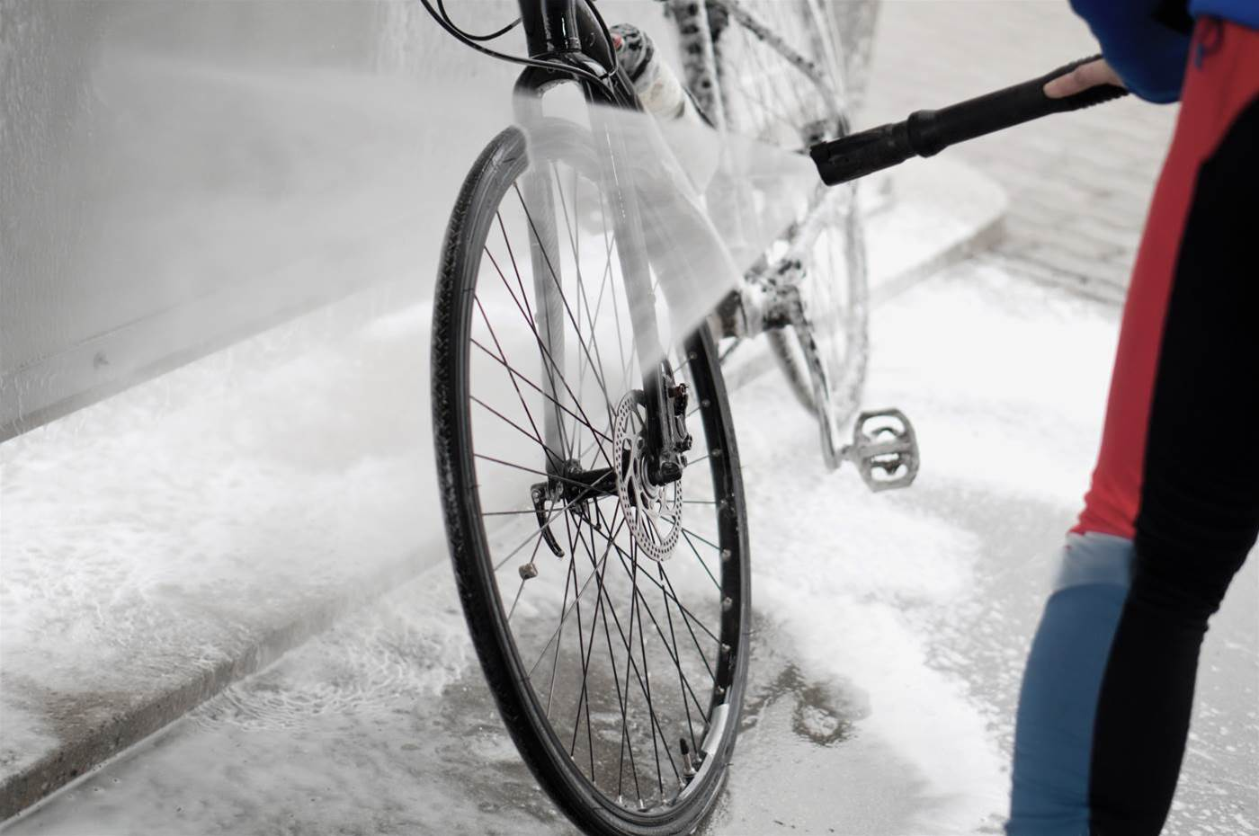 3 mistakes you're making every time you wash your bike