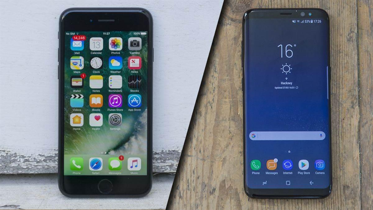 Samsung Galaxy S8 vs Apple iPhone 7: flagship phone shootout