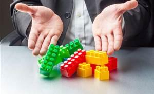 Lego blocks: the new IT cool kid