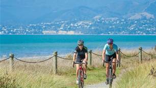 Cycling Nelson's Great Taste Trail