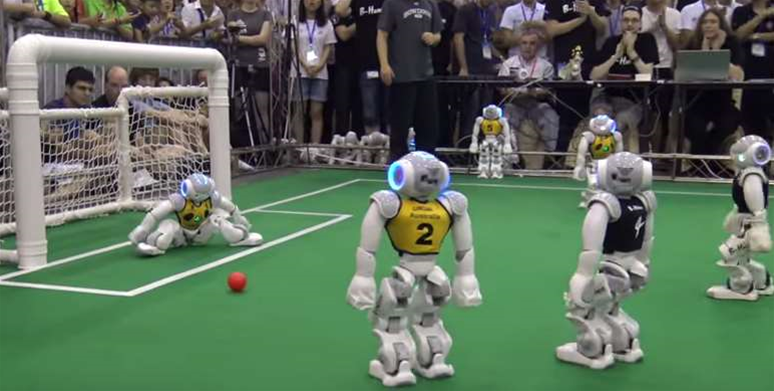 How Australia won the robot soccer world cup