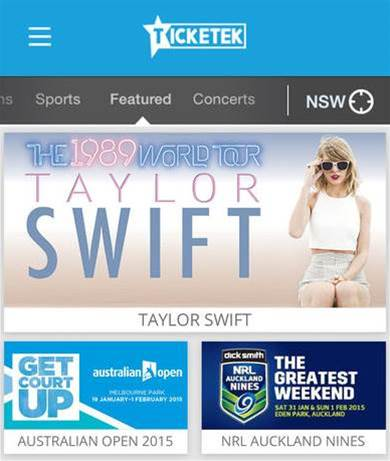 Ticketek opens its core to reach out to customers