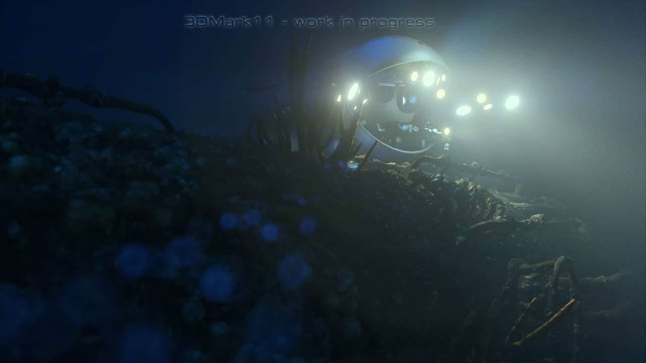 Futuremark's 3DMark 11 Deep Sea Screenshots