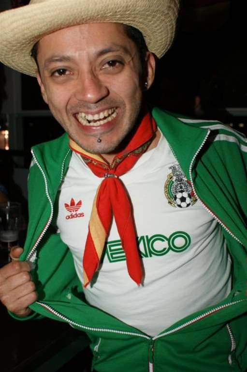 Mexico Fans Party In Sydney Pic Gallery
