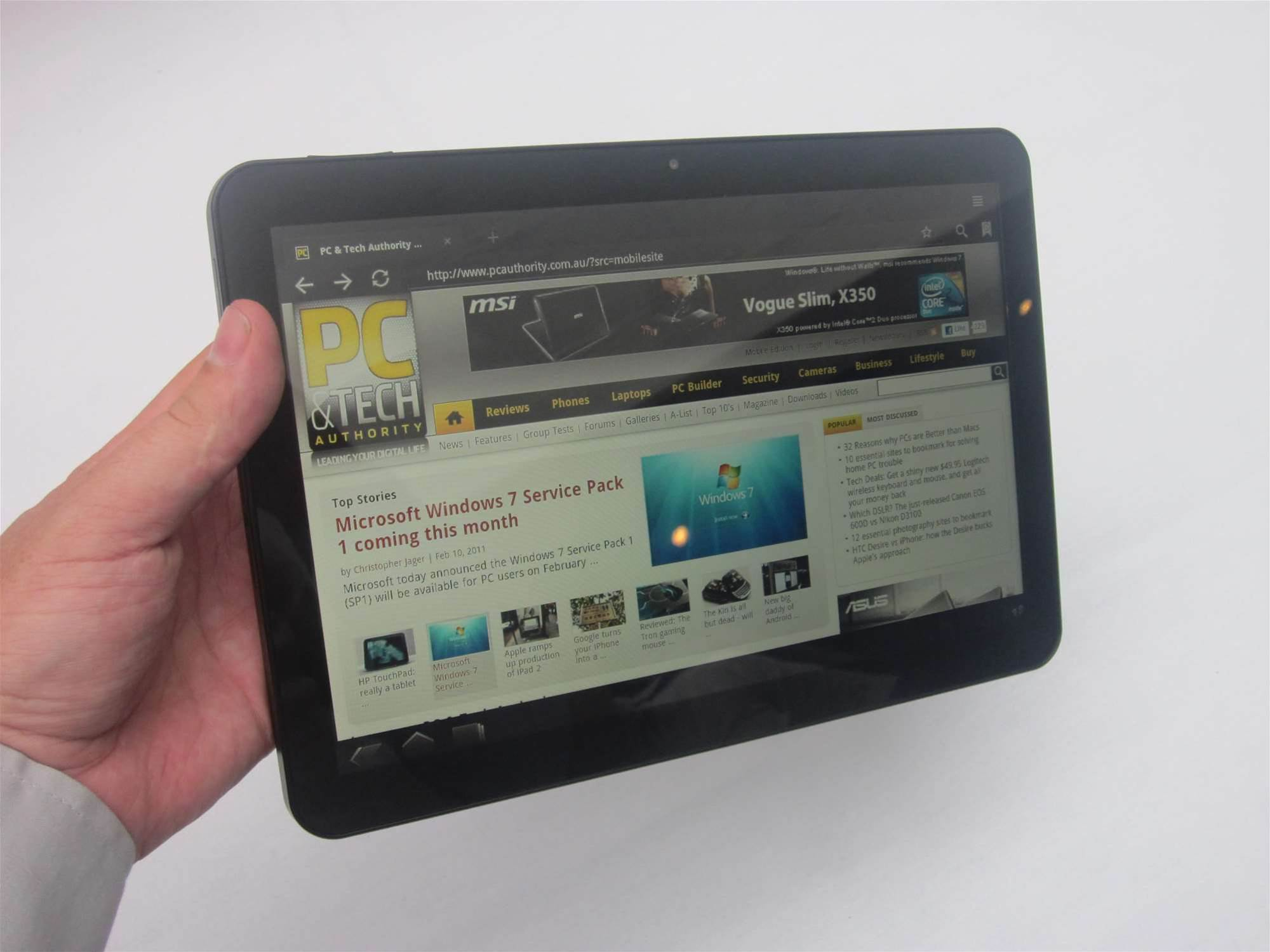 Samsung Australia today unveiled its two 'hero' products for 2011: the Samsung Galaxy Tab 10.1 and Samsung Galaxy S II. We had a play around with both products at the official launch event. Read on to discover our verdict. (Pictured: Samsung Galaxy Tab 10.1)