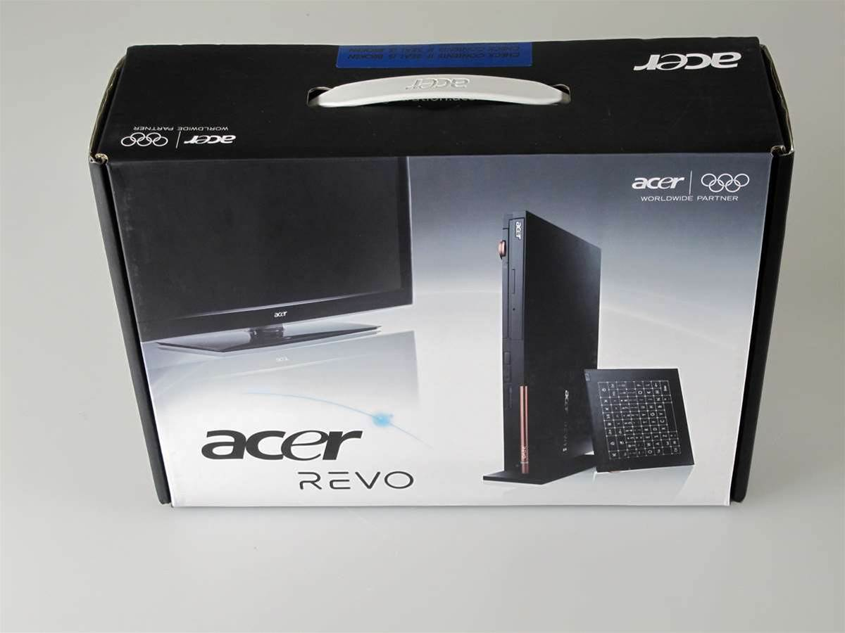 Unboxed: Acer's sleek media PC, the Revo 100