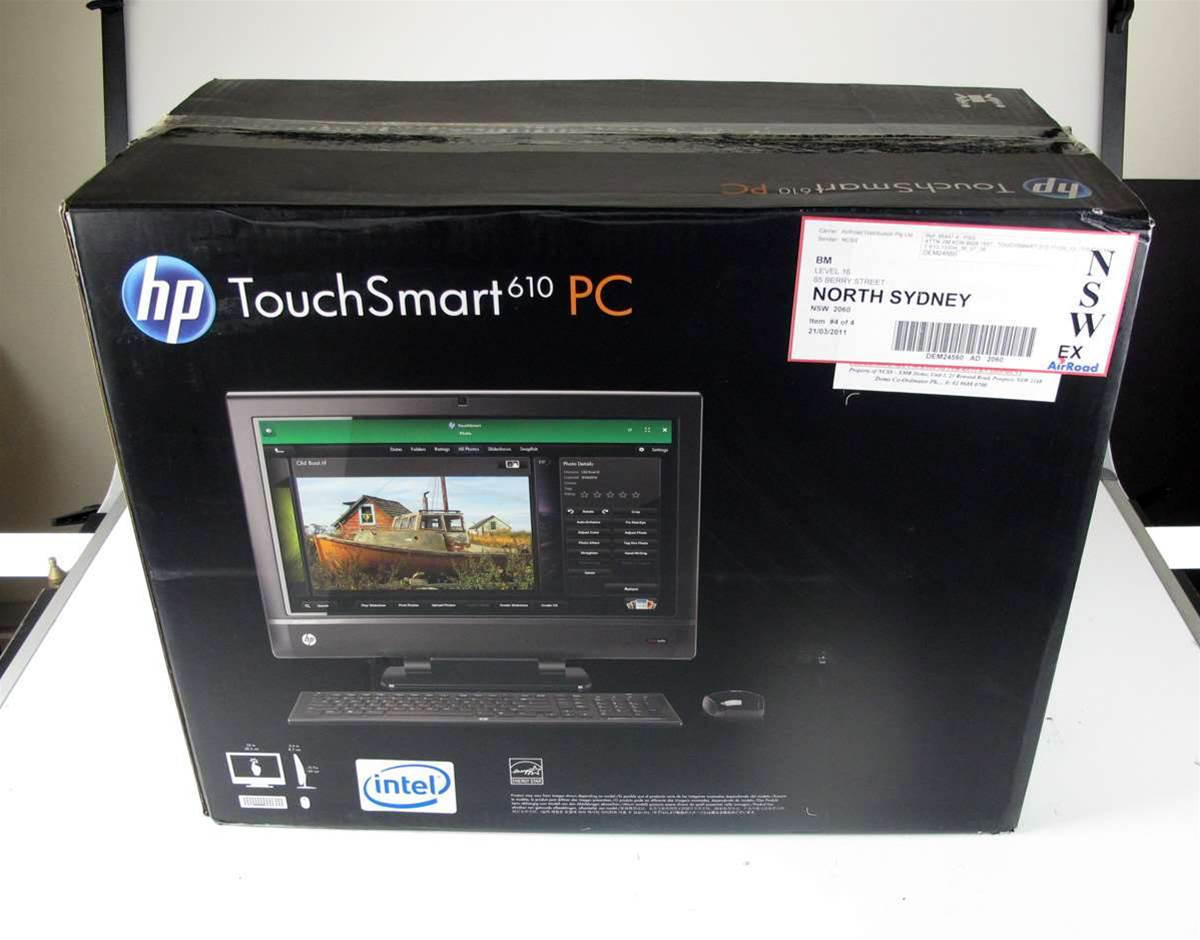 Unboxed: HP's amazing transformable Touchsmart 610