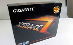 Photo gallery: Gigabyte's X58A-OC motherboard