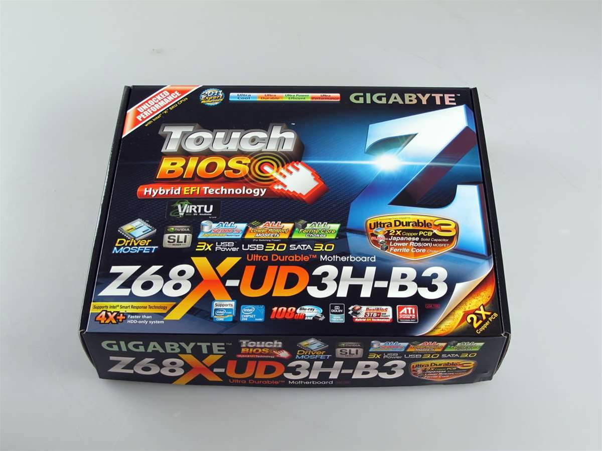 Unboxed: Gigabyte's latest Z68X-UD3H-B3 motherboard