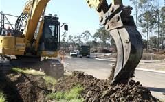 Photos: Landcom estate lays pipes for NBN fibre