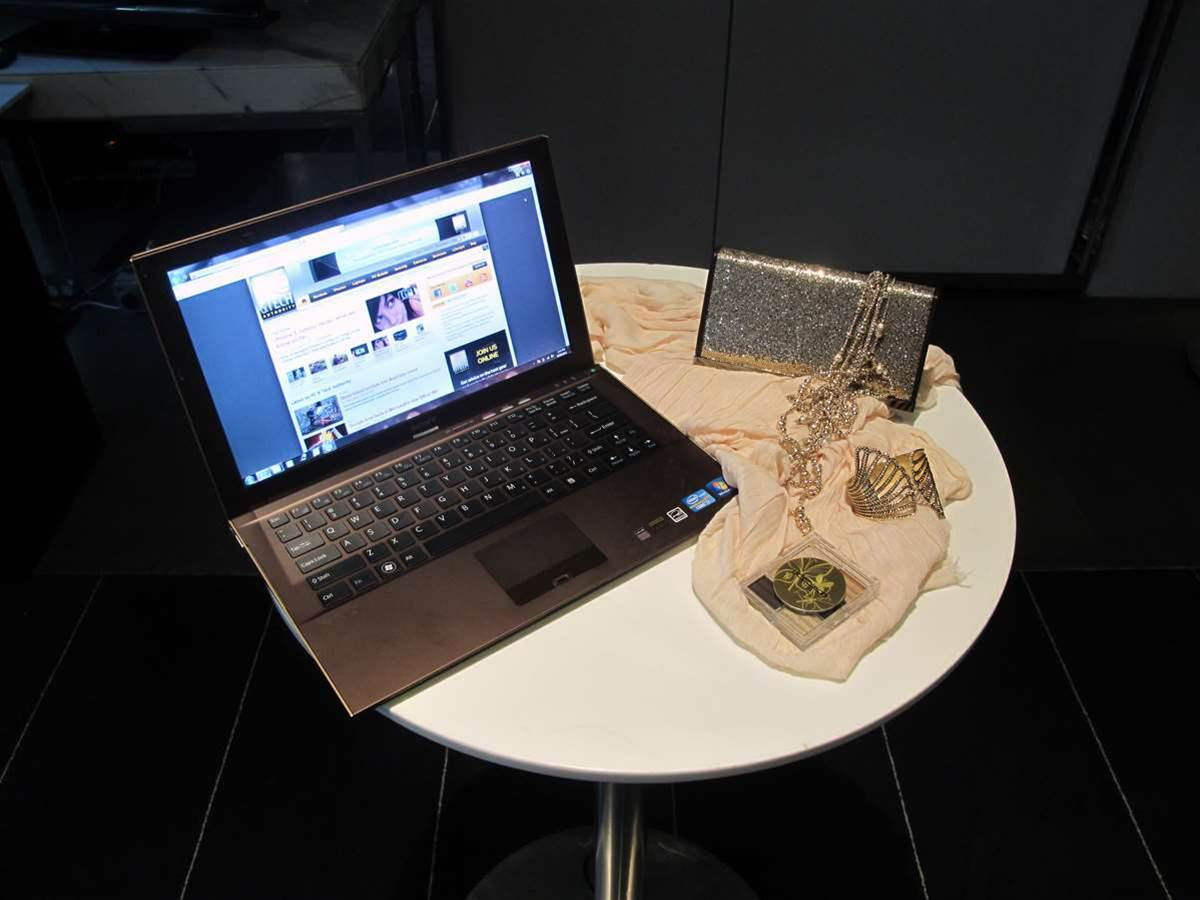 Sheer opulence: introducing the Sony Vaio Z Series laptop