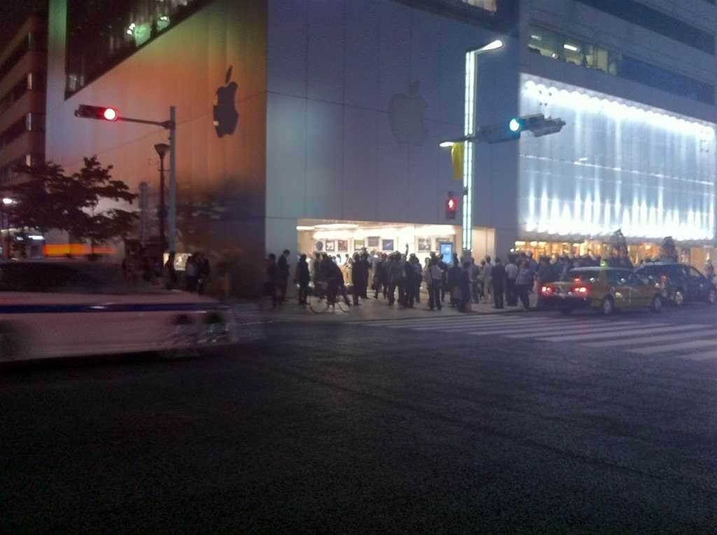 Photos: Tokyo mourns the passing of Steve Jobs