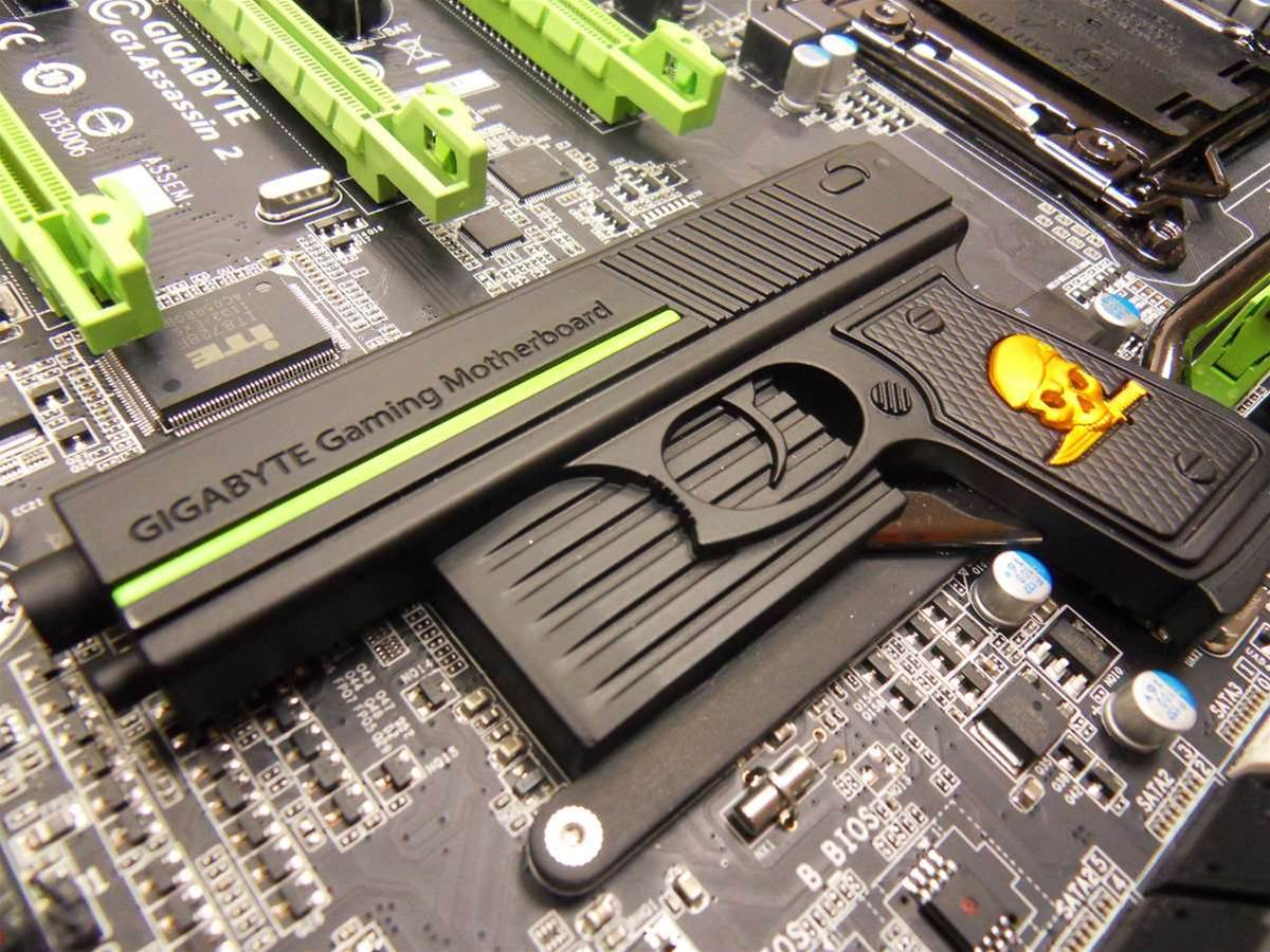 Gigabyte's G1.Assassin.2 X79 gaming motherboard