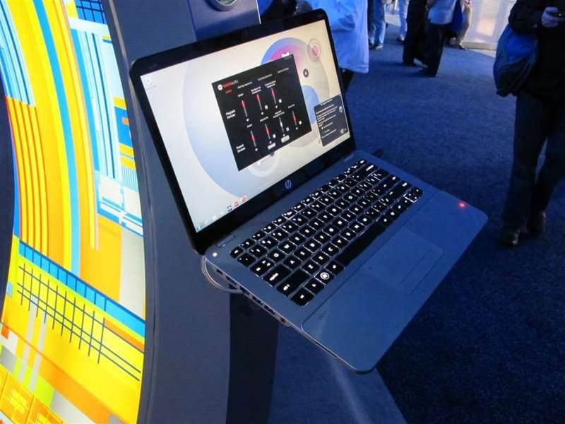 <h2>HP Envy Spectre (cont.)</h2>The Envy is expected to hit local stores some time in March. Pricing starts at US$1,399.