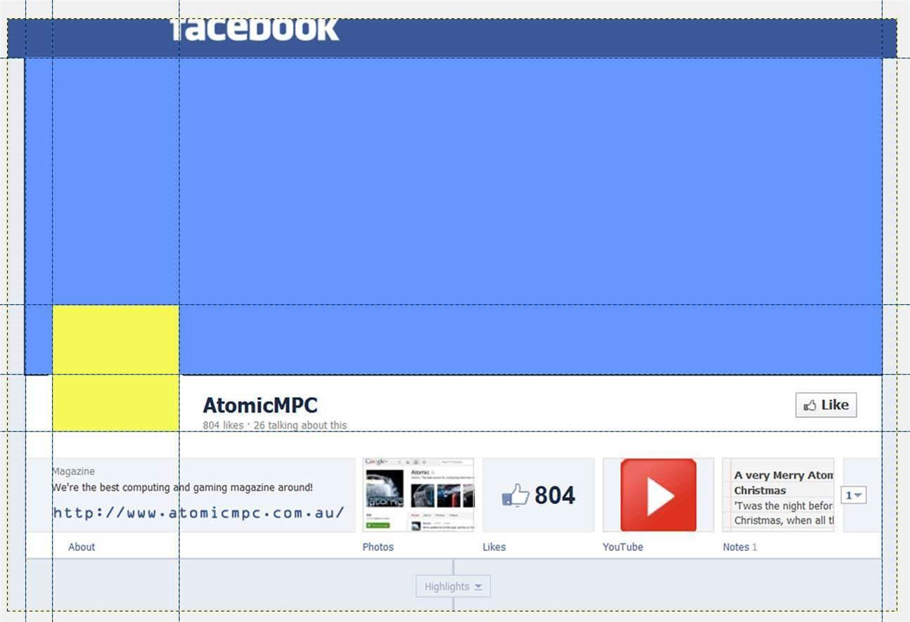 How to Mod Your Facebook Timeline Profile with The Gimp