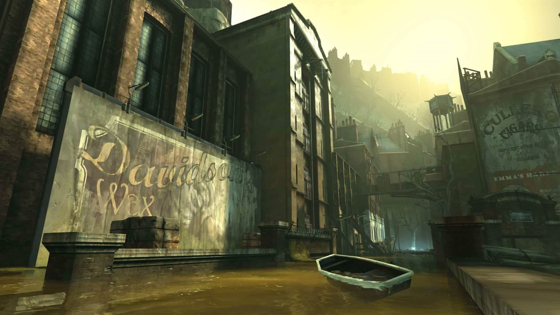 New screens from Dishonored - cloak, dagger and magic!