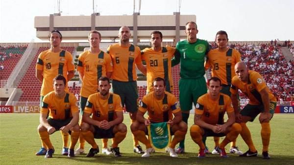 Socceroos v Oman Pics