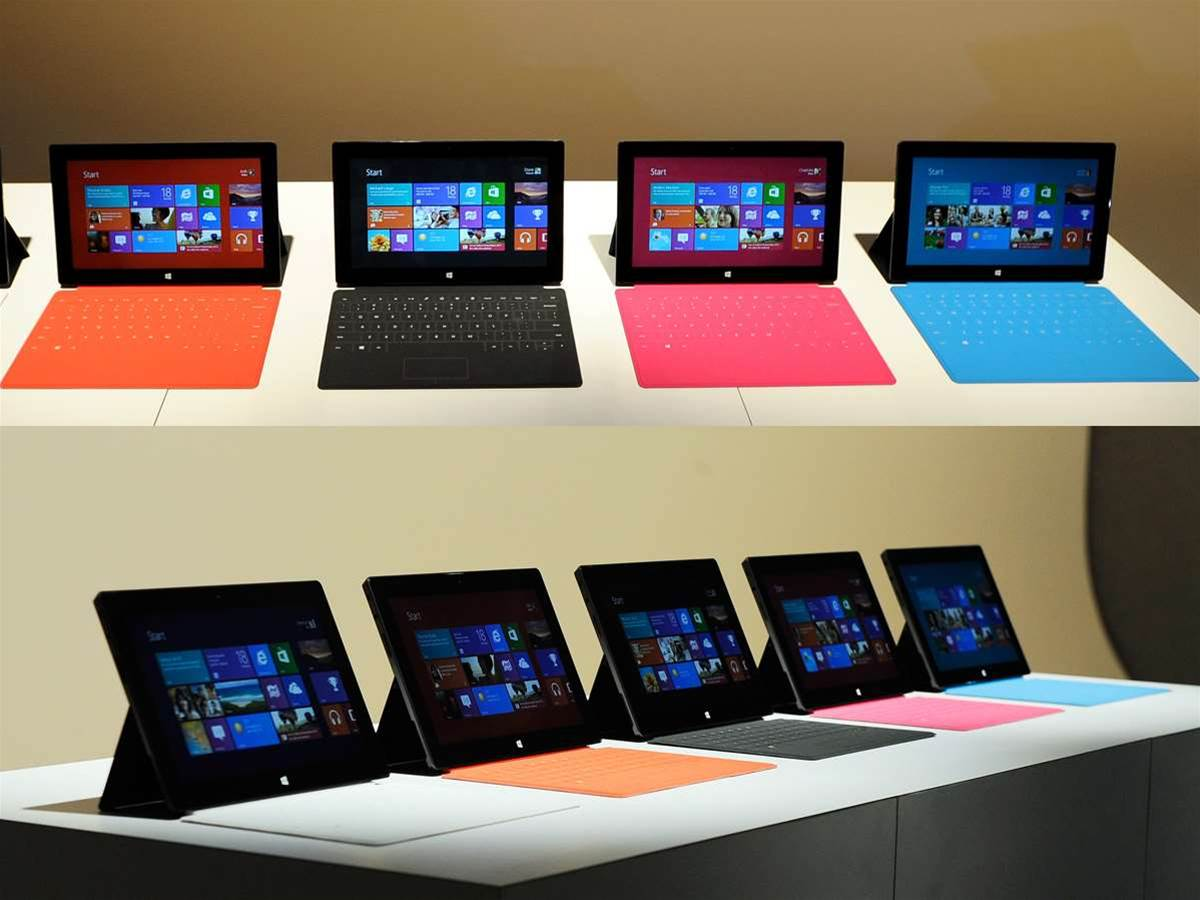 In Pictures: Microsoft Surface tablet launch