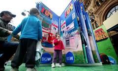 Quirky marketing idea #1: BIG W's giant catalogue