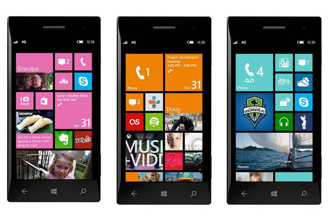 In Pictures: First glimpse at Windows Phone 8