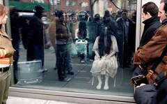 Bizarre, beautiful, shocking: Eye-catching store window displays