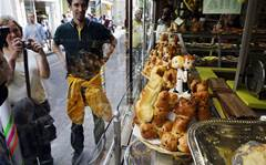 Raunchy baking and tentacles: more bizarre window displays