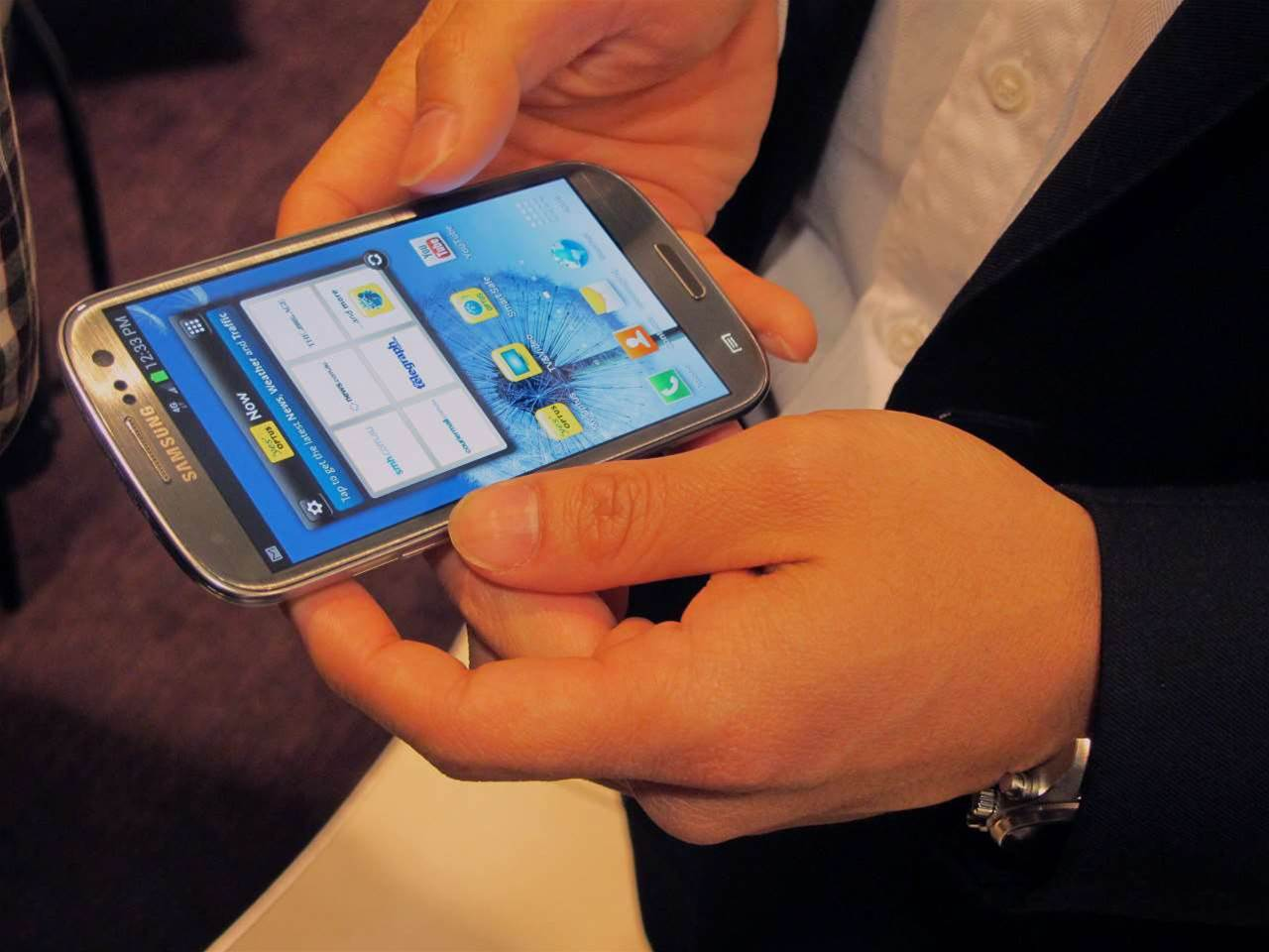 In Pictures: Optus launches 4G network, Samsung Galaxy S III 4G