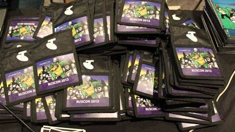 #Ruxcon day 1 in pictures